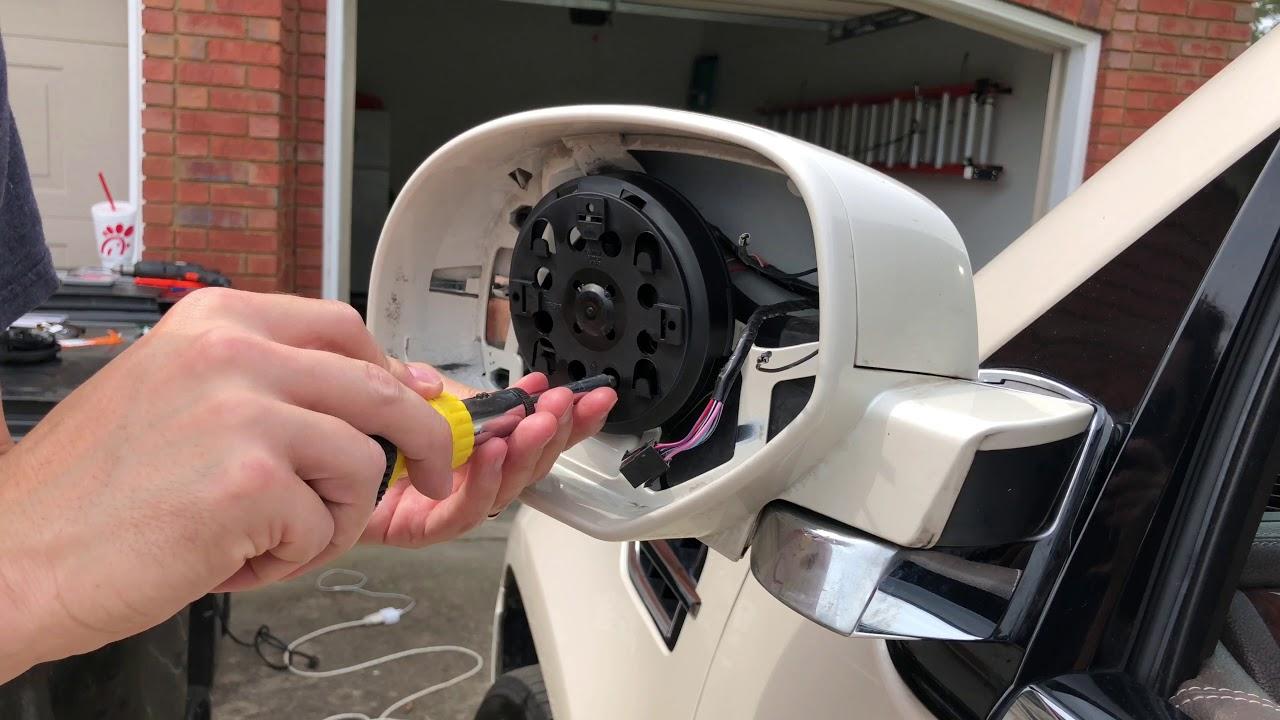 GM OEM-Door Side Rear View Power Mirror Motor 25808705