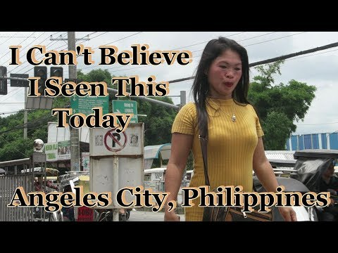 I Can't Believe I Seen This Today : Angeles City, Philippines