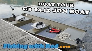 Fishing with Rod Boat Tour: G3 1442 Jon Boat