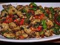 Çok Lezzetli Tavuk Kavurma (Roasted Chicken And Veggies)