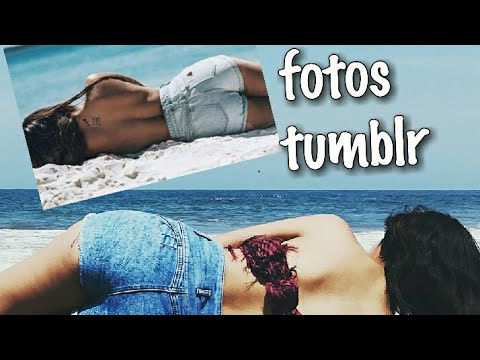 Imitando fotos tumblr en la playa fotos faciles de - Para ver fotos ...