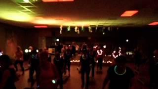 glow in the dark event Vouershof Geleen freestyle step