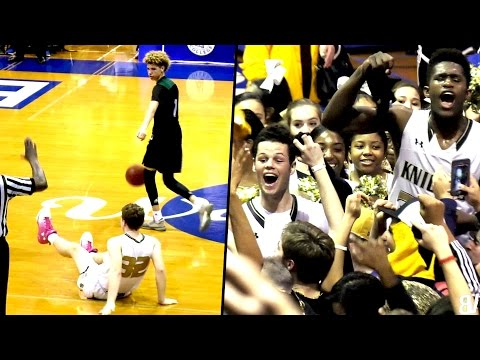 LaMelo & LiAngelo Ball's FINAL HIGH SCHOOL GAME! Ball Bros Go Out FIGHTING In State Playoffs!!