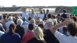 El presidente Macri encabezó en Junín la inauguración de tres tramos de la autopista de la Ruta 7