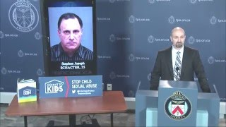 @TorontoPolice Sex Crimes Unit Update | Stephen Schacter, 55, Charged with Child Porn Offences