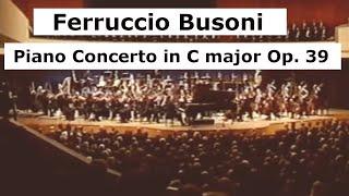 Busoni, Piano Concerto in C Major Op. 39