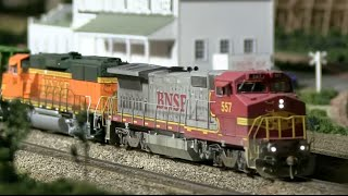 HO Scale DCC Train Layout Run-bys Vol. 1