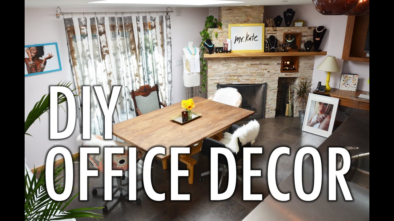 mr kate hq office re decoration and organization project youtube
