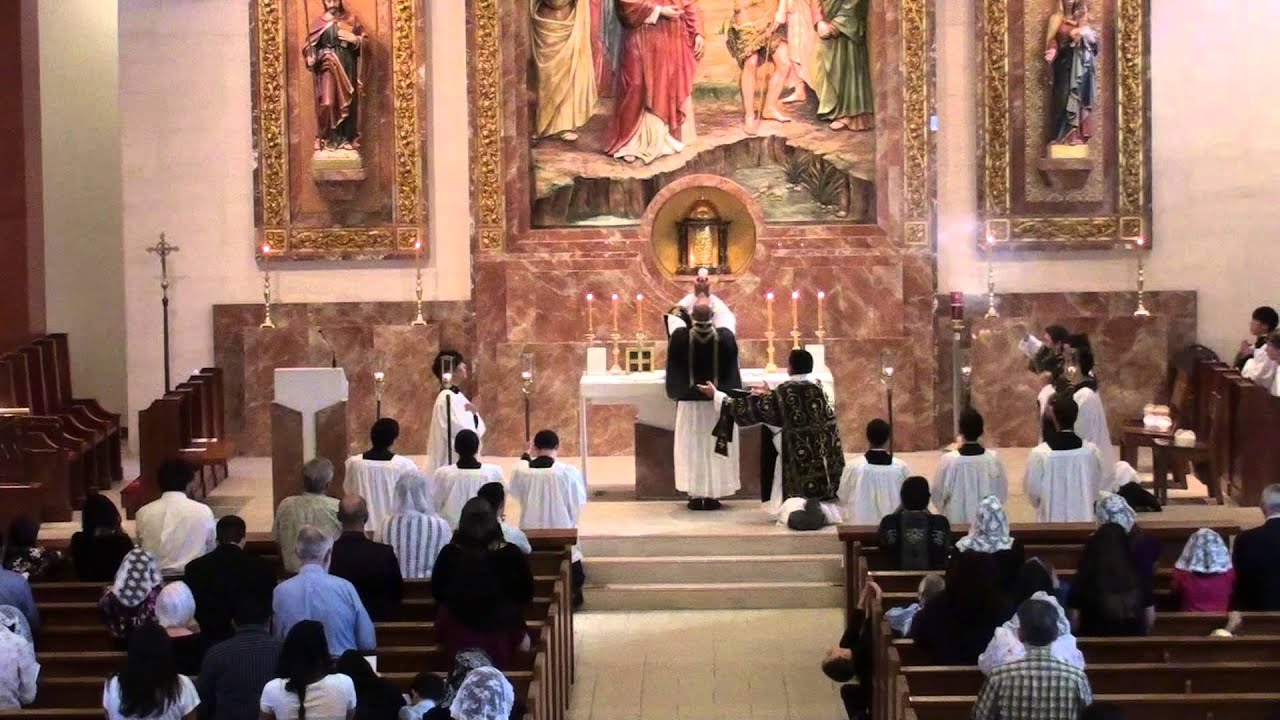 Complete Latin Requiem Solemn High Mass HD Traditional EF All Souls 02 November 2013  YouTube