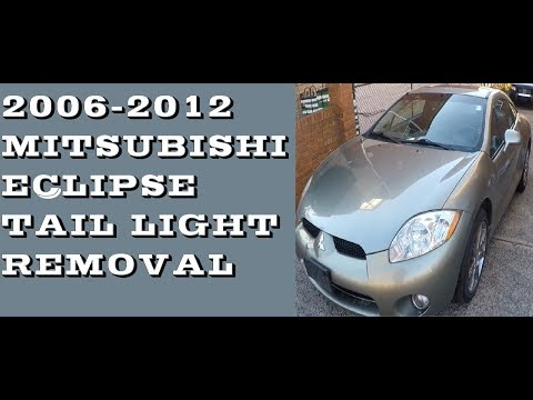 How to replace Tail lights and bulbs in Mitsubishi Eclipse 06-12