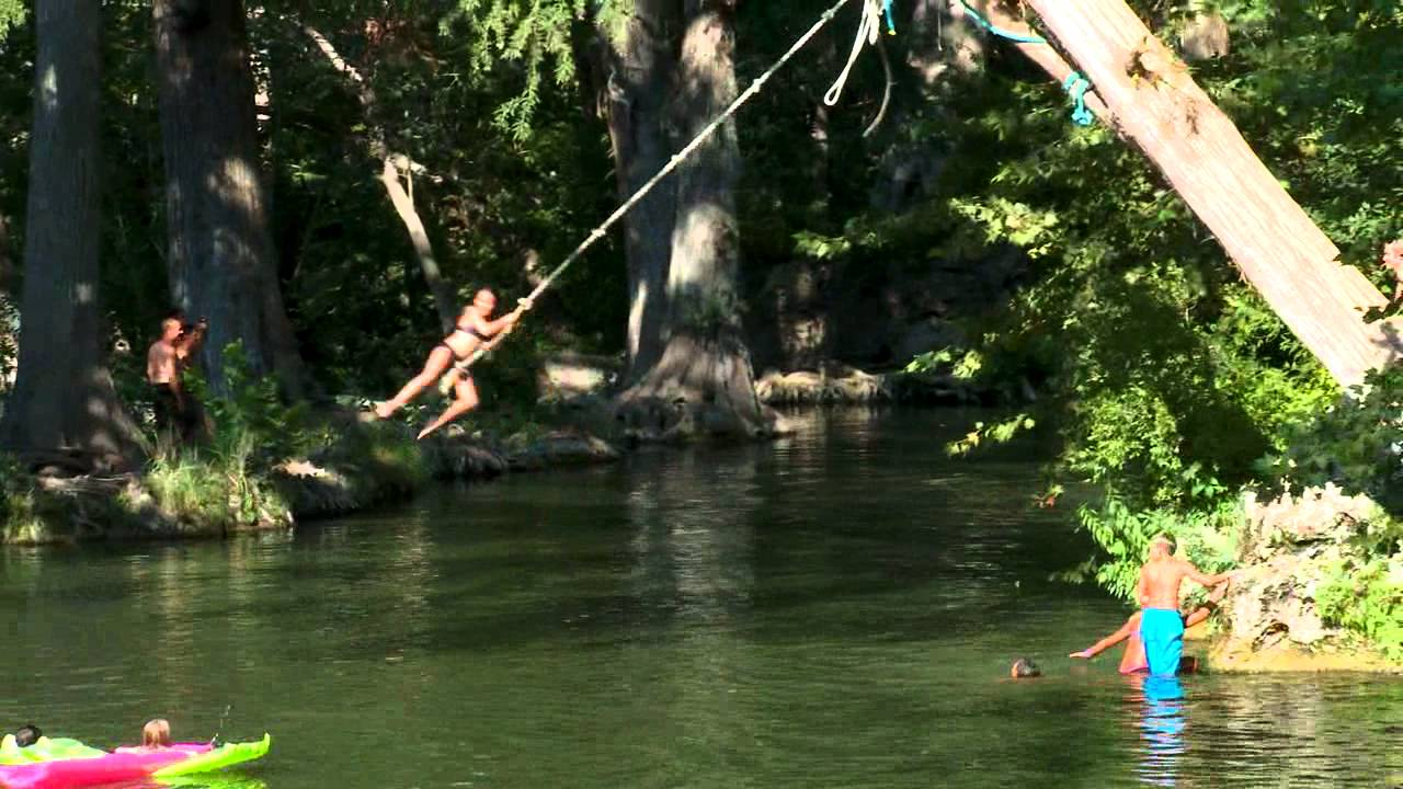 krause springs spicewood tx   the daytripper   youtube