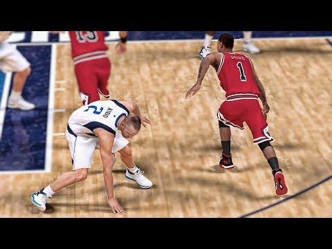 Shattering Ankles - NBA 2K19 Derrick Rose My Career Ep. 14