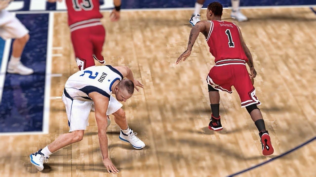 3510d4461 Shattering Ankles - NBA 2K19 Derrick Rose My Career Ep. 14 - YouTube