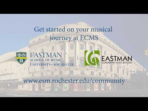 Eastman Community Music School: Get started on your musical journey