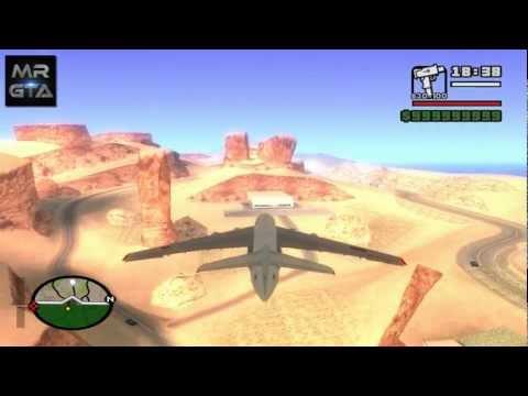 GTA San Andreas - Algerian Air Force IL-76 ®