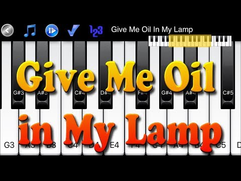 Give Me Oil In My Lamp - How to Play Piano Melody