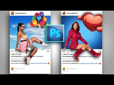 Instagram 3D Pop Out Photo Effects Photoshop Tutorial    After Effects Animation