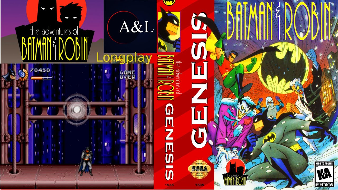 The Adventures Of Batman Robin Genesis Longplay Youtube