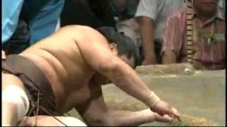 Sumo KO : Mongolia VS Japan