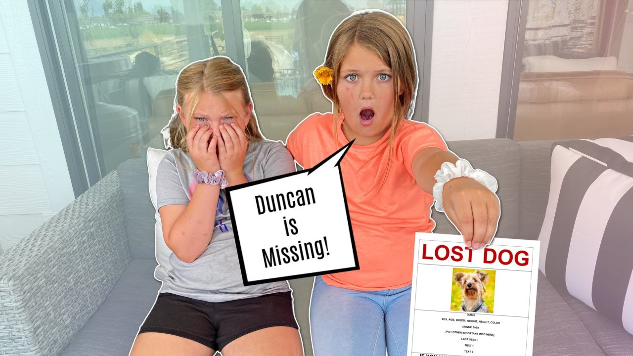Our PUPPY Duncan Goes MISSING!