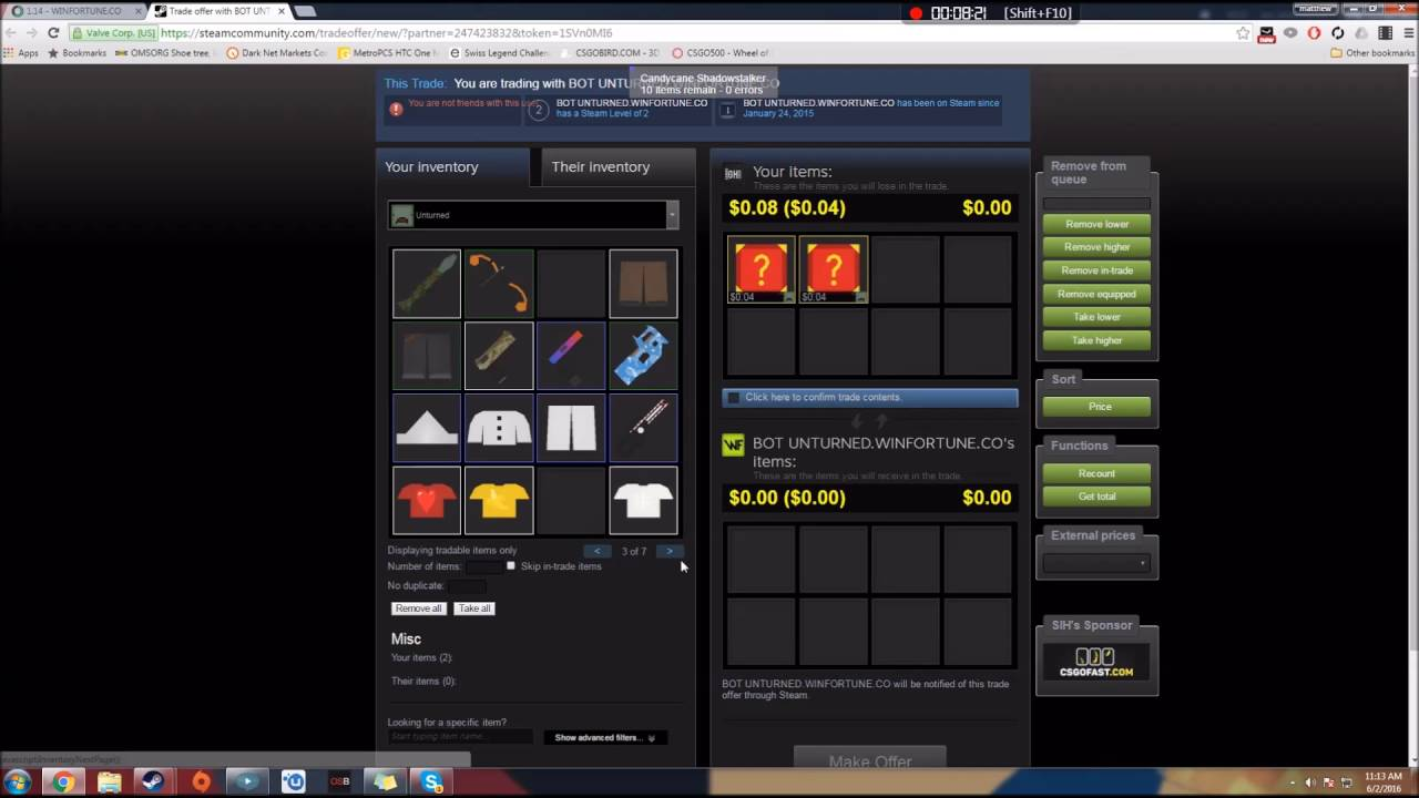 Unturned Gambling