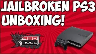 Jailbroken PS3 Unboxing