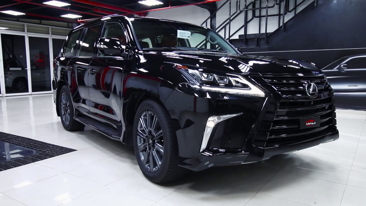 Lexus LX570 2017 full body wrapped with self-healing paint ...
