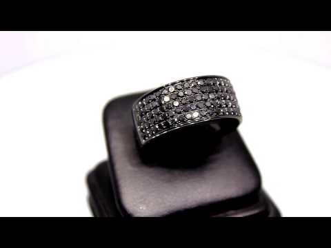 mens-10k-solid-gold-pvd-plated-diamond-ring-with-black-diamonds-2.68-ctw