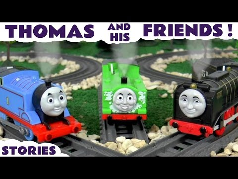 Thomas & Friends Avengers Play Doh Cars Toys Accident Rescue Racing English Episodes Compilation