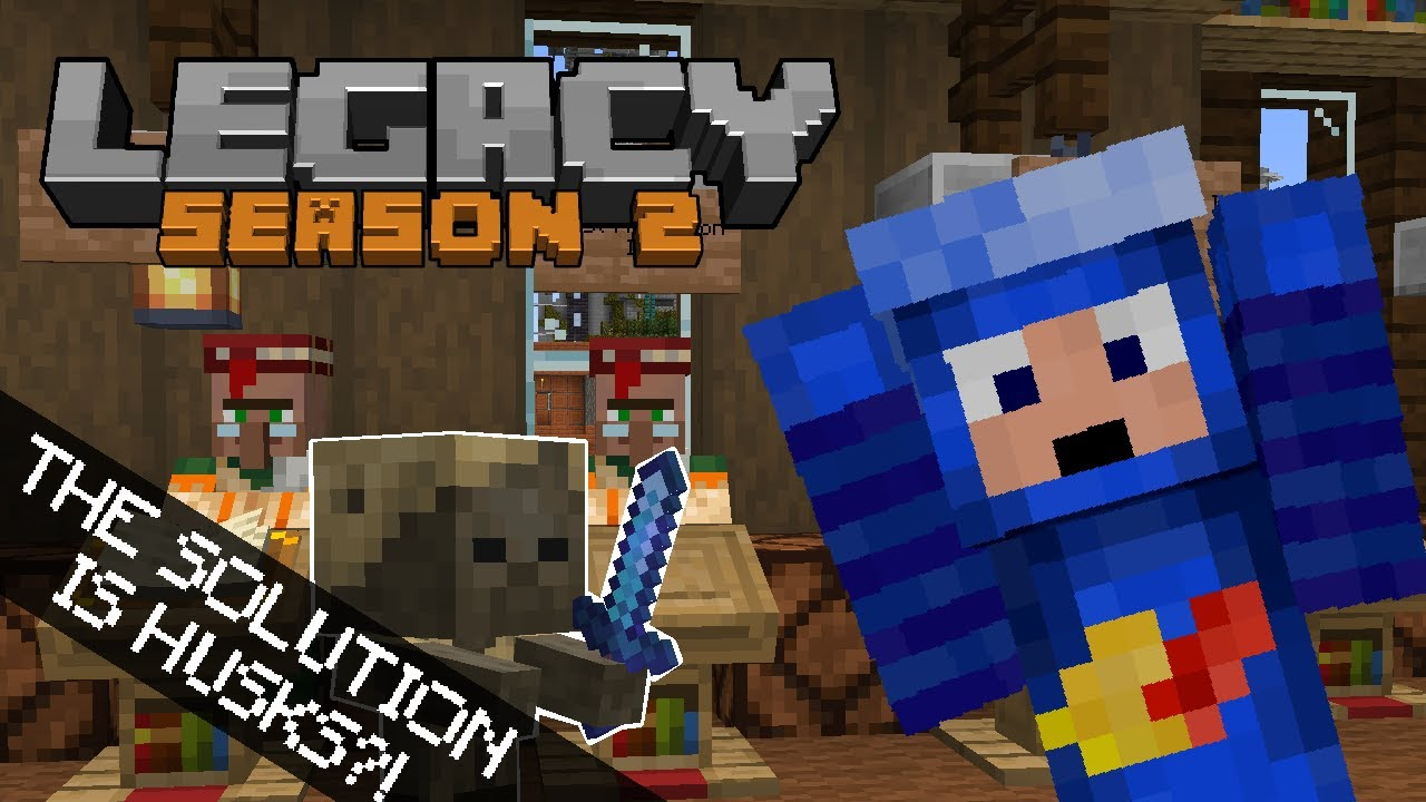 The Solution Is Husks?! - Legacy SMP Season 2
