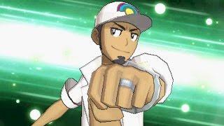 Pokemon Sun and Moon - Professor Kukui Final Battle and Ending