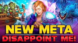 New Descent of Dragons Decks Disappoint me. The Most Effective Hearthstone Decks after the Nerf.