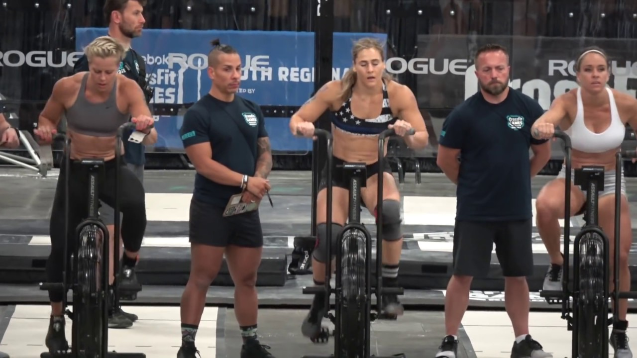 2018 Crossfit Games Regionals Event 5 Claire Youtube