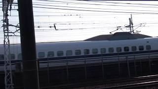 東海道新幹線700系 東海車 ~名鉄栄生駅から~