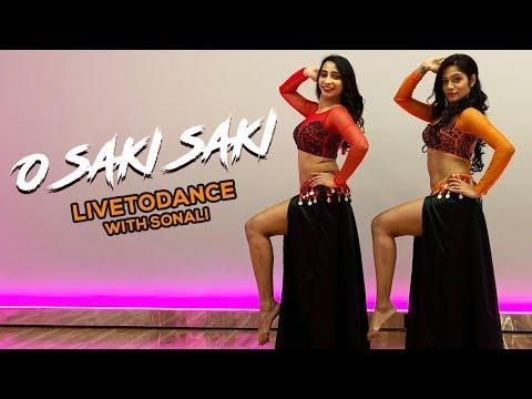 O SAKI SAKI: Batla House  Nora Fatehi  Belly Dance  ToDance with Sonali