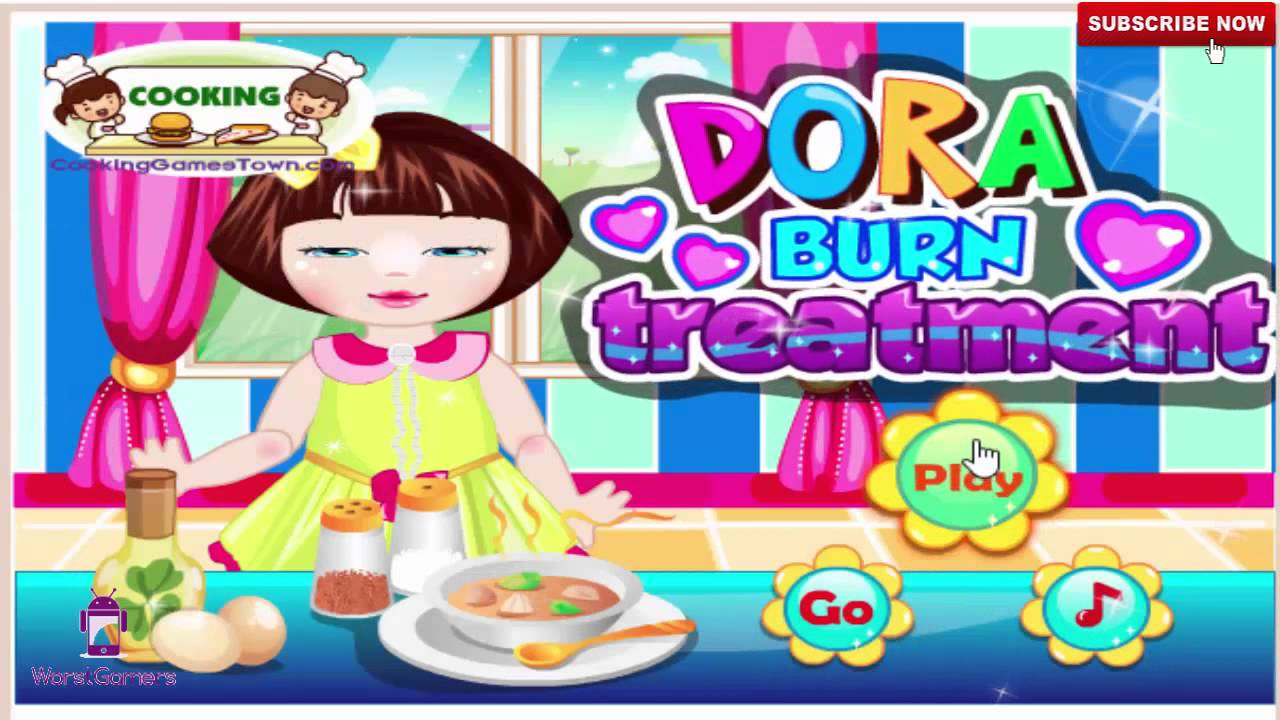 Dora Games For Girls Makeover Dress Up And Cooking Games