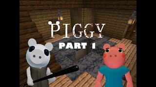 Tutorial  Roblox Piggy - How To Build Distorted Memory In Minecraft!  Part 1  Piggy