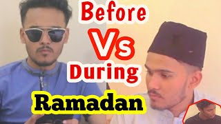 Before Vs During Ramadan || New Bangla Funny Video 2018 || Friends TheTuberGuys™
