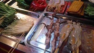 Z Albertem na grillu w Chnagsha - Chiny #159