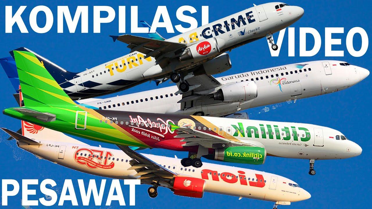 Air Asia, Citilink, Lion Air, Sriwijaya, Garuda Indonesia ...