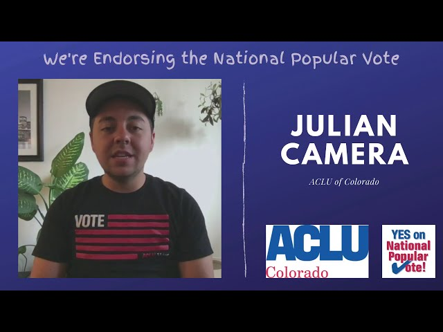 Why the ACLU is endorsing YES on National Popular Vote