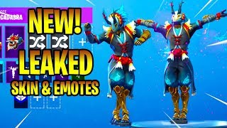*NEW* Leaked TARO Skin & Emotes ( Knee Slapper, Llamacadabra, Bombastic...) Fortnite Battle Royale