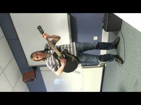 David McCrea guitar video 2