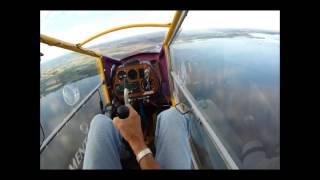 CGS Hawk flight over Lake Poygan in Wisconsin
