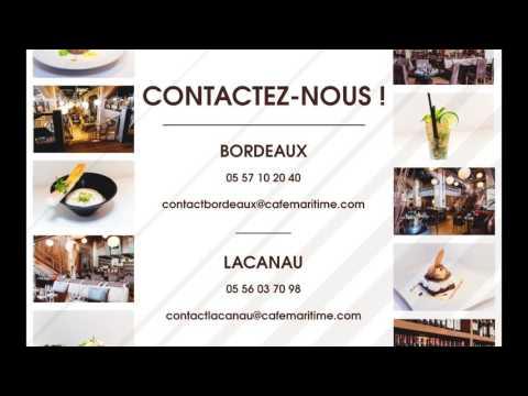 Café Maritime Bordeaux et Lacanau
