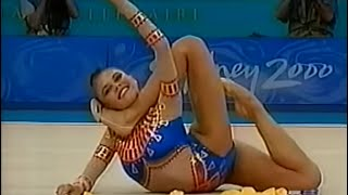 Alina Kabaeva- cinta -FINAL ALL- ROUND (Sydney 2000)