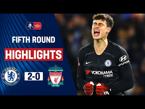 Barkley \u0026 Willian Knock Out Liverpool as Kepa Stars | Chelsea 2-0 Liverpool | Emirates FA Cup 19/20