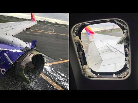 ENGINE FAILURE On SOUTHWEST Boeing 737 MID-FLIGHT