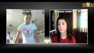 Me and my wiffie on ooVoo !