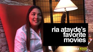 Ria Atayde On Which Part Of Filmmaking She Likes To Try & Her Favorite Movies!